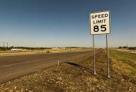 Transportation Texas Speed Limit 85mph