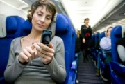 User Your Cell Phone Smartphone During take off  airplane
